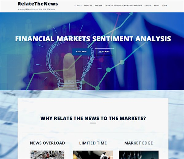 RelateTheNews-Launches new website design 11-2-2015